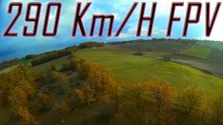 getlinkyoutube.com-Fastest FPV Plane France Record - 290 Kph GPS - World First HD