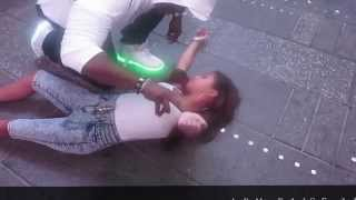 """getlinkyoutube.com-Hypnosis: Reset Dynamics """"Beauty and the Beast"""" in Time Square"""