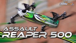 Assault Reaper 500 3D Quadcopter - HobbyKing Product Video