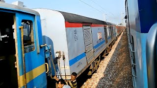 getlinkyoutube.com-Exclusive coverage:SDAH Rajdhani Train Accident, overtaken by MUV Exp & other Rajdhanis[Indian Rail]
