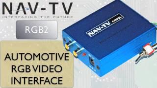 getlinkyoutube.com-RGB VIDEO 16x9 - Auxiliary Video Input for factory navigation Screens