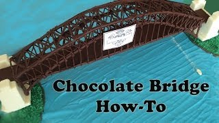 getlinkyoutube.com-Chocolate Sydney Harbour Bridge Australia Day fireworks HOW TO COOK THAT Ann Reardon