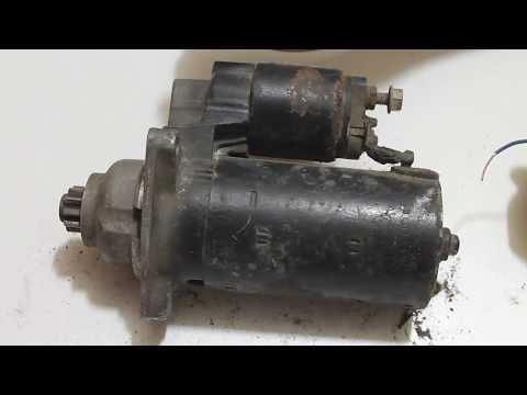 Стартер VW T4 Bosch 02B911023D Germany V