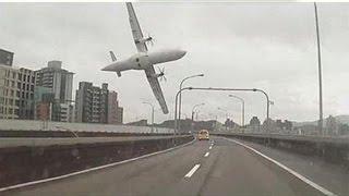 getlinkyoutube.com-Taiwan: precipita ATR-72 della TranAsia poco dopo il decollo