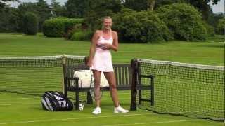getlinkyoutube.com-Djokovic vs. Sharapova: Behind the Scenes