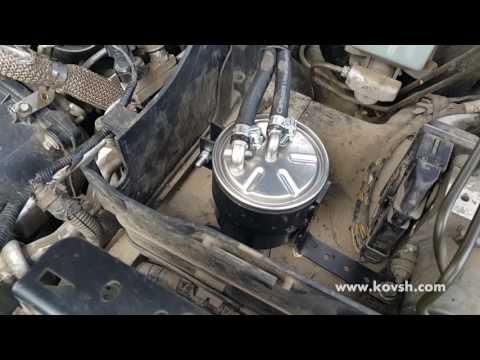 Где находится топливный фильтр в Лэндровер Range Rover Sport
