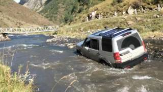 Land Rover Discovery 3 Extreme river off road Экстремальное вождение по реке Ленд Ровер Дискавери 3