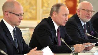 getlinkyoutube.com-Путин пообещал правозащитникам разобраться с проблемами в России