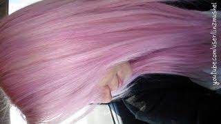getlinkyoutube.com-Dying My Hair Pastel Pink