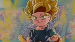 getlinkyoutube.com-DBZ Goku Jr. vs Vegeta Jr.