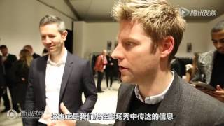 getlinkyoutube.com-Burberry CEO赞吴亦凡首秀表现满分-Burberry CEO complimemts the performance of Kris Wu in fashion week