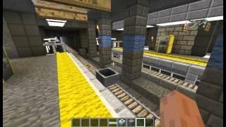 getlinkyoutube.com-【Minecraft】NipaCity開発日記 ~鉄道網・自動駅・Automatic station~