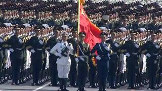 getlinkyoutube.com-China military parade 2009-live-troop formations on foot(international version)