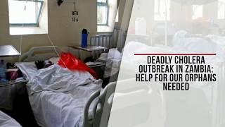 Cholera Crisis Hits African Orphanage
