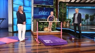 getlinkyoutube.com-This 3-Year-Old Gymnast Is Flipping Awesome