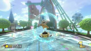 getlinkyoutube.com-Mario Kart 8: Water Park [1080 HD]