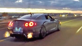 getlinkyoutube.com-NM Street Racing!!! 1100hp Supra, GT-R, ZR-1 Corvette & Turbo BMW