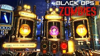 getlinkyoutube.com-Black Ops 3 ZOMBIES - DR MONTYS FACTORY! MEGA RARE GOBBLEGUM OPENING! (Call of Duty BO3)