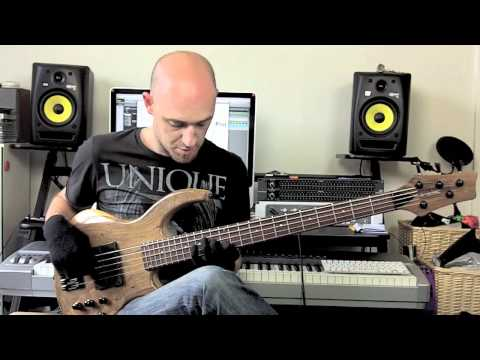 Jazz Phrasing Lesson Pt1 - Bass lesson with Scott Devine