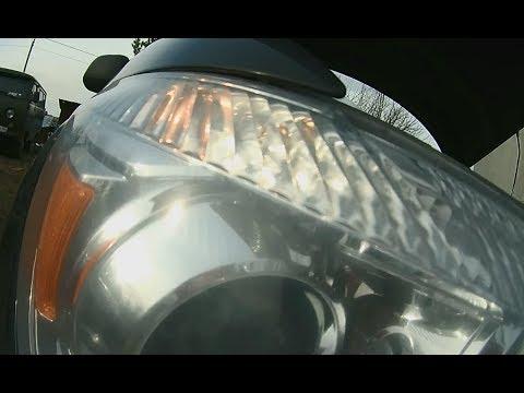 Замена лампы габаритов фары MITSUBISHI ASX