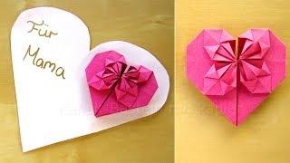 getlinkyoutube.com-Muttertagsgeschenke basteln - DIY Geschenk zum Muttertag basteln - Mama