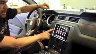 Ford Mustang iPad Mini Dash Mount