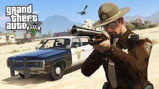 getlinkyoutube.com-GTA 5 PLAY AS A COP MOD - SHERIFF POLICE PATROL!! (GTA 5 Mods Gameplay)