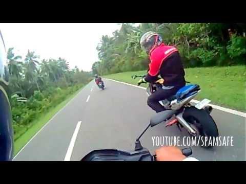 150KPH Top Speed 150cc TVS Tormax 3 valves engine on twisty roads with LC135