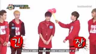 getlinkyoutube.com-[ENG] 130710 EXO Weekly Idol Random Dance cut