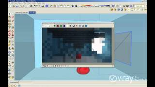 getlinkyoutube.com-V-Ray for SketchUp -  Rectangular Lights - tutorial
