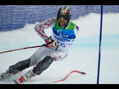 Men's giant slalom standing first run - Alpine Skiing - Vancouver 2010 Paralympic Winter Games