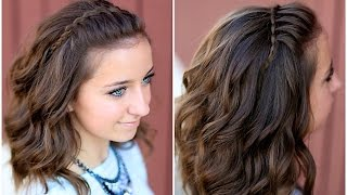 getlinkyoutube.com-DIY Faux Waterfall Headband | Cute Girls Hairstyles