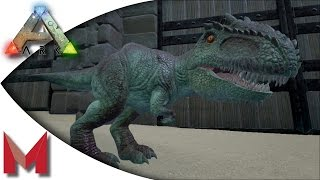 getlinkyoutube.com-ARK: Survival Evolved - Giganotosaurus Baby, Blitzkriegsler and elevator building! S2E72 Gameplay