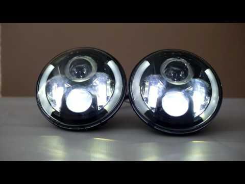 Светодиодные фары LED.Диодные фары главного света led -star rpo