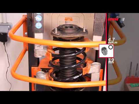 How to Replace Front Shock Absorbers: Toyota Corolla Verso ll