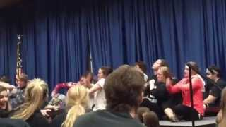 IASC Student Council Hypnotist Show 2015