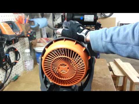Ridgid Gen5x 18-volt Hybrid Fan Model R860720B