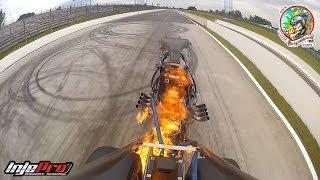 getlinkyoutube.com-Dragster Alejandro Sanchez - Explosão do motor - 20º Festival Força Livre de Arrancada 2013