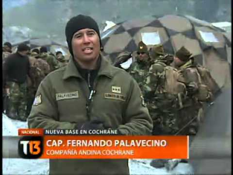 La nueva base del Ejrcito en Cochrane - Tele 13