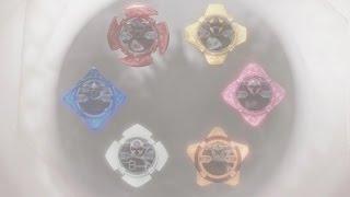 getlinkyoutube.com-Six Ninja Power Stars