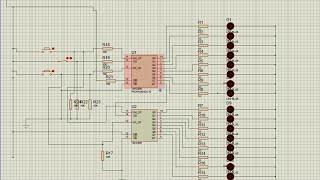 getlinkyoutube.com-Simulating 74HC595 shift register using proteus
