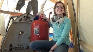 getlinkyoutube.com-Ep 12 Blasting with the Harbor Freight Blaster: Soda vs Glass Bead