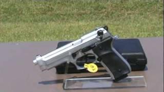 getlinkyoutube.com-Replica Model F92 Metallic Blank Firing Gun 9mm.mpg