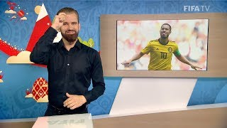 FIFA WC 2018 - BEL vs. TUN – for Deaf and Hard of Hearing - International Sign