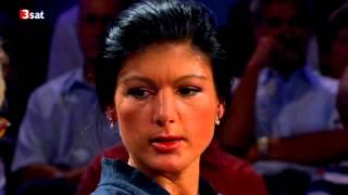 getlinkyoutube.com-Sahra Wagenknecht - DIE LINKE- Riverboat - Talkshow - 10.09.2012