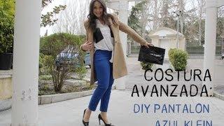 getlinkyoutube.com-Costura avanzada: Como hacer unos pantalones completos