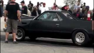 getlinkyoutube.com-Street Outlaws Flip El Camino