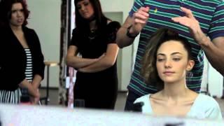 Oyster Beauty Daily: Shane Henning styles Amelia Zadro @ Priscillas