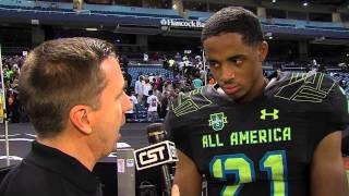 Snopp Dogg's son, Cordell Broadus, is a standout HS Wide Receiver