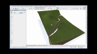 getlinkyoutube.com-Crear terreno y carretera en ArchiCAD